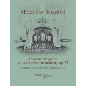 Mieczysław Surzyński Koncert organowy op. 35