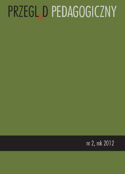 Przegląd Pedagogiczny nr 2/2012