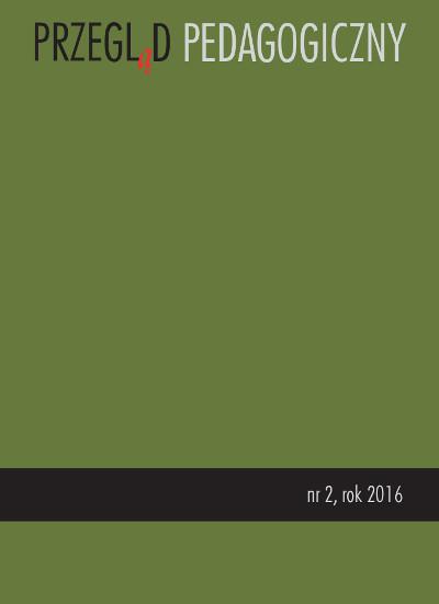 Przegląd Pedagogiczny nr 2/2016