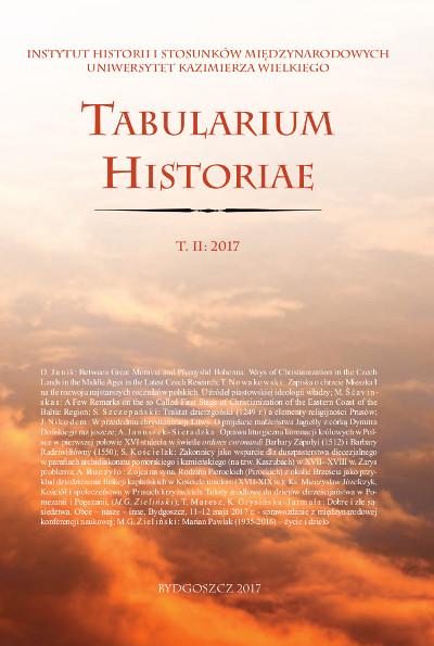 Tabularium Historiae T. II:2017