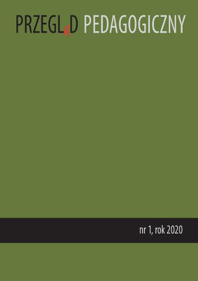 Przegląd Pedagogiczny nr 1/2020