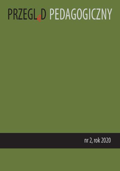 Przegląd Pedagogiczny nr 2/2020