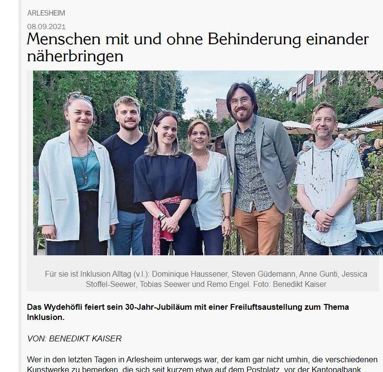 Wochenblatt Birseck Inklusive Arlesheim