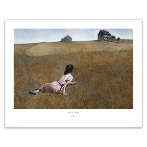 Christina's World by Andrew Wyeth