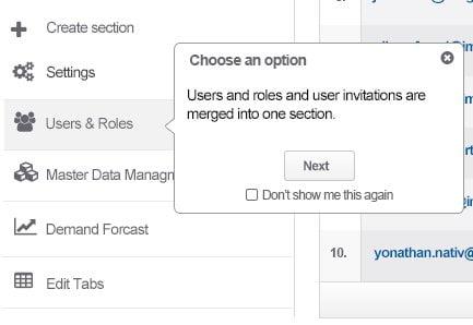 UX case study: user walk through hints.