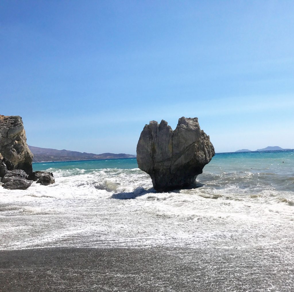 Heart Shaped Rock Preveli