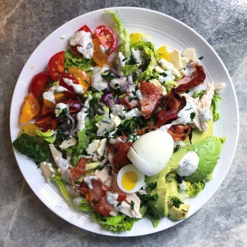 Keto Chicken Cobb Salad