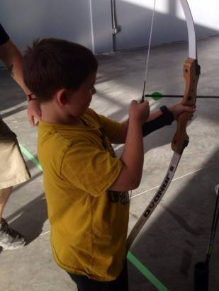 Getting to know the bow.
