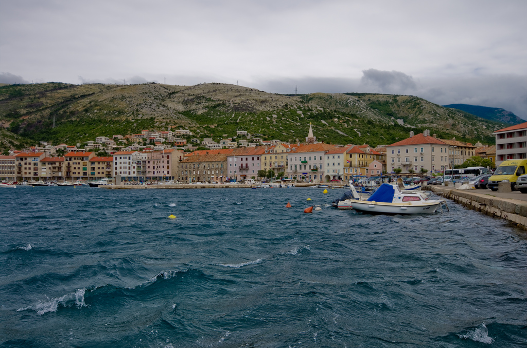 Senj on the water, Croatia - - getting to the mountains