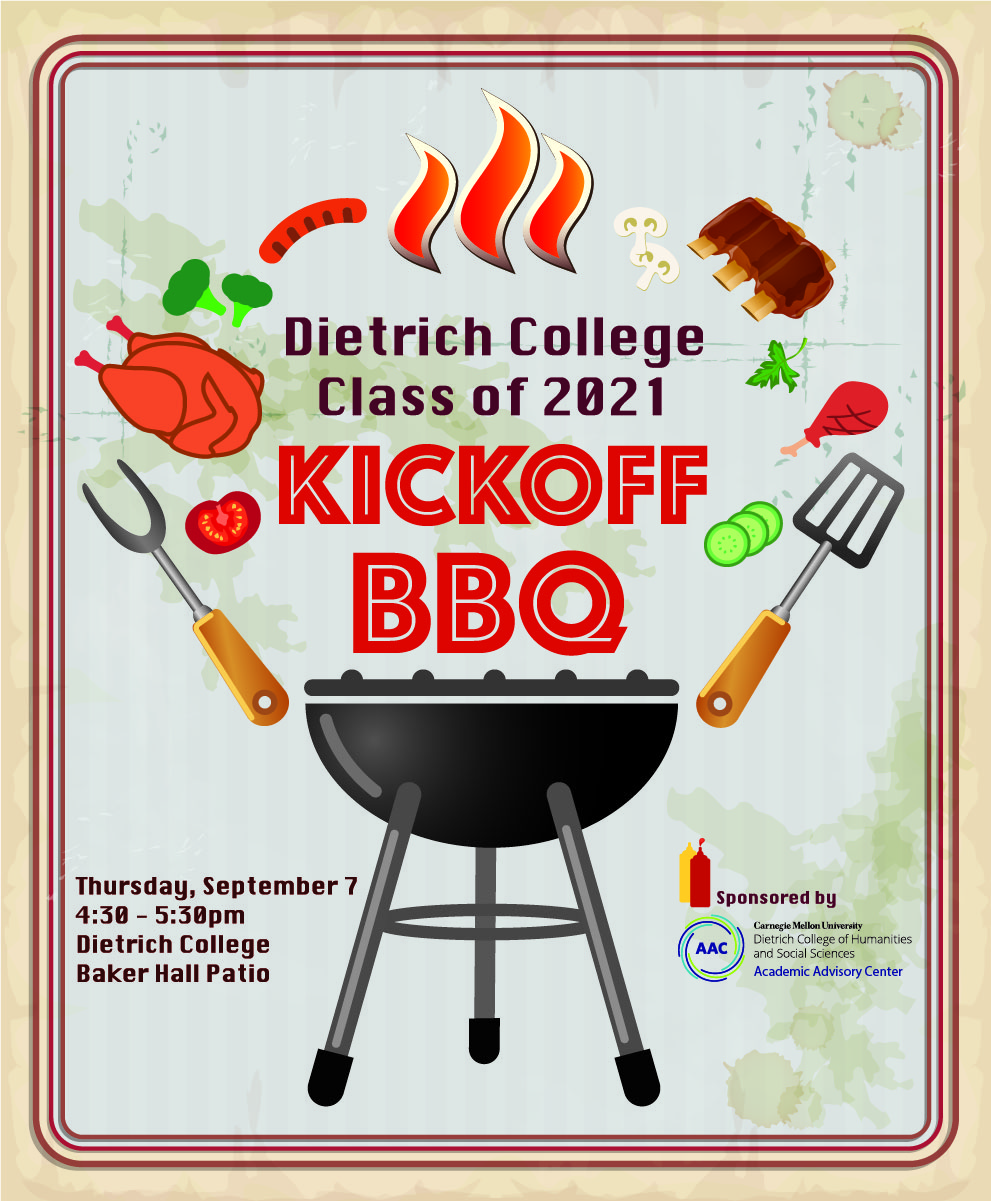 kickoff bbq poster