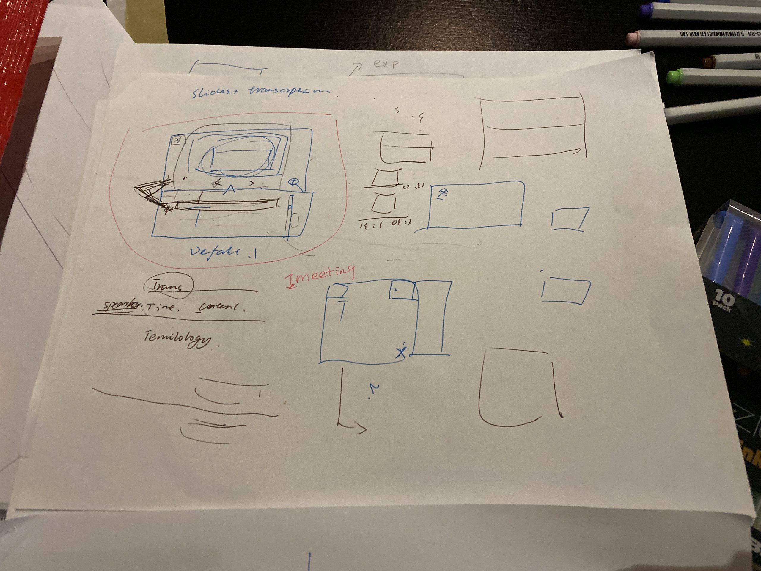 lo-fi sketch