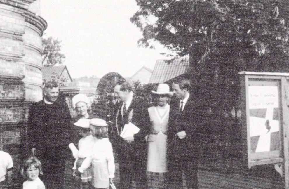 John Jarrold at Centenary 1970