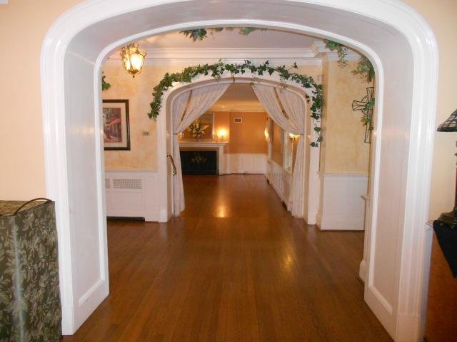 view into ballroom