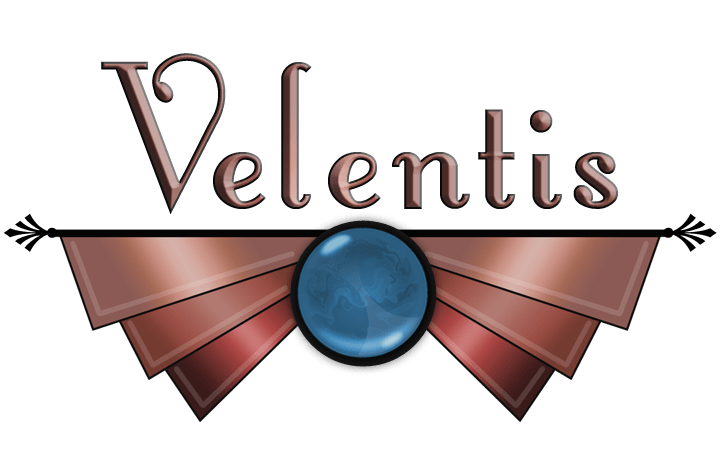 Second Life Graphic Logo Velentis Presents Roles in 1940s Retro style created by Wyndaveres