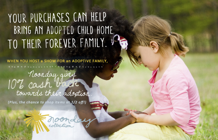 Adoption Fundraising: Noonday Collection