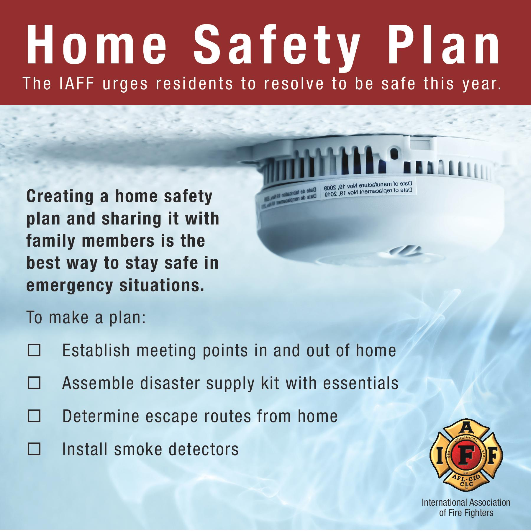 Keep Your Family Safe Have A Fire Safety Plan Welcome