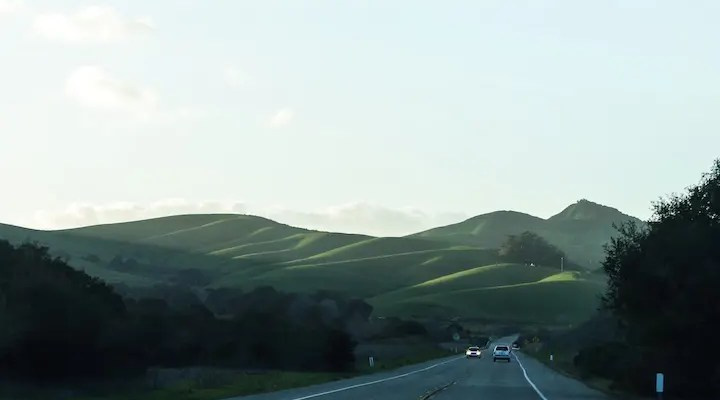Hwy 1 South of Lompoc