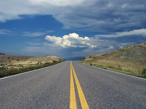 The road goes on forever...