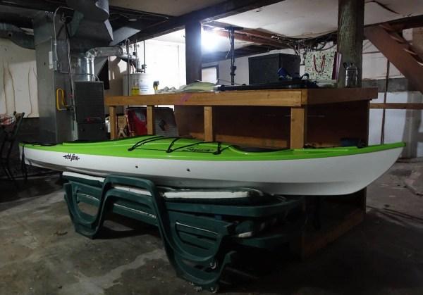 It was a beautiful kayak