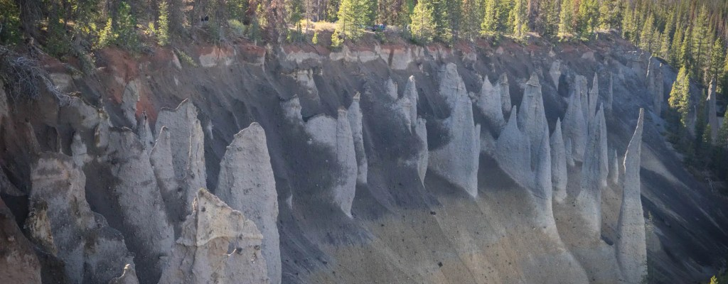 The Pinnacles of Crater Lake