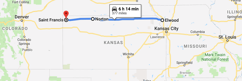 Roadtripping: Route 36, Kansas