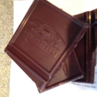 ghiradelli chocolate yum.