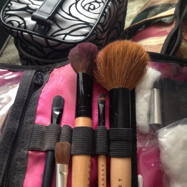 Old brushes. Take 'em out to clean