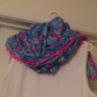 scarf I ended up with