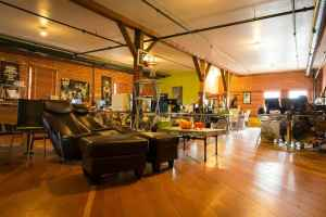 Warehouse 21 interior