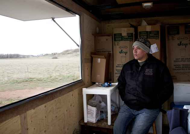 When Waylon Rogers is not advocating for his proposals, he works selling shaved ice from a food truck. Rogers refers to himself as a servant to the Northern Cheyenne people.