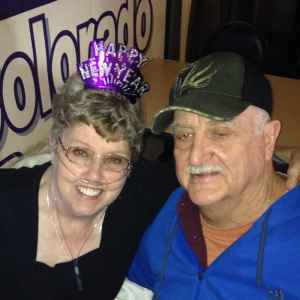 Peggy Kelley and husband Stephen