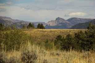 """Public land image of some Absaroka Range Mountains."" (DL Jones)"