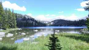Mirror Lake, Big Horn National Forest. Captured 8-15-15, by yours truly. (Courtesy Benjamin Roberts)