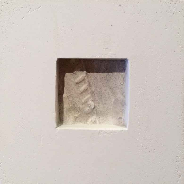Linda Ryan, One Summer Day. Cast plaster, 2016. (Sue Sommers)