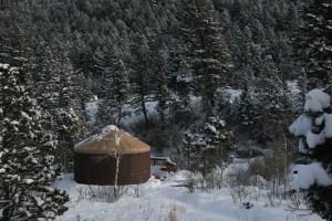 Wyoming Yurt