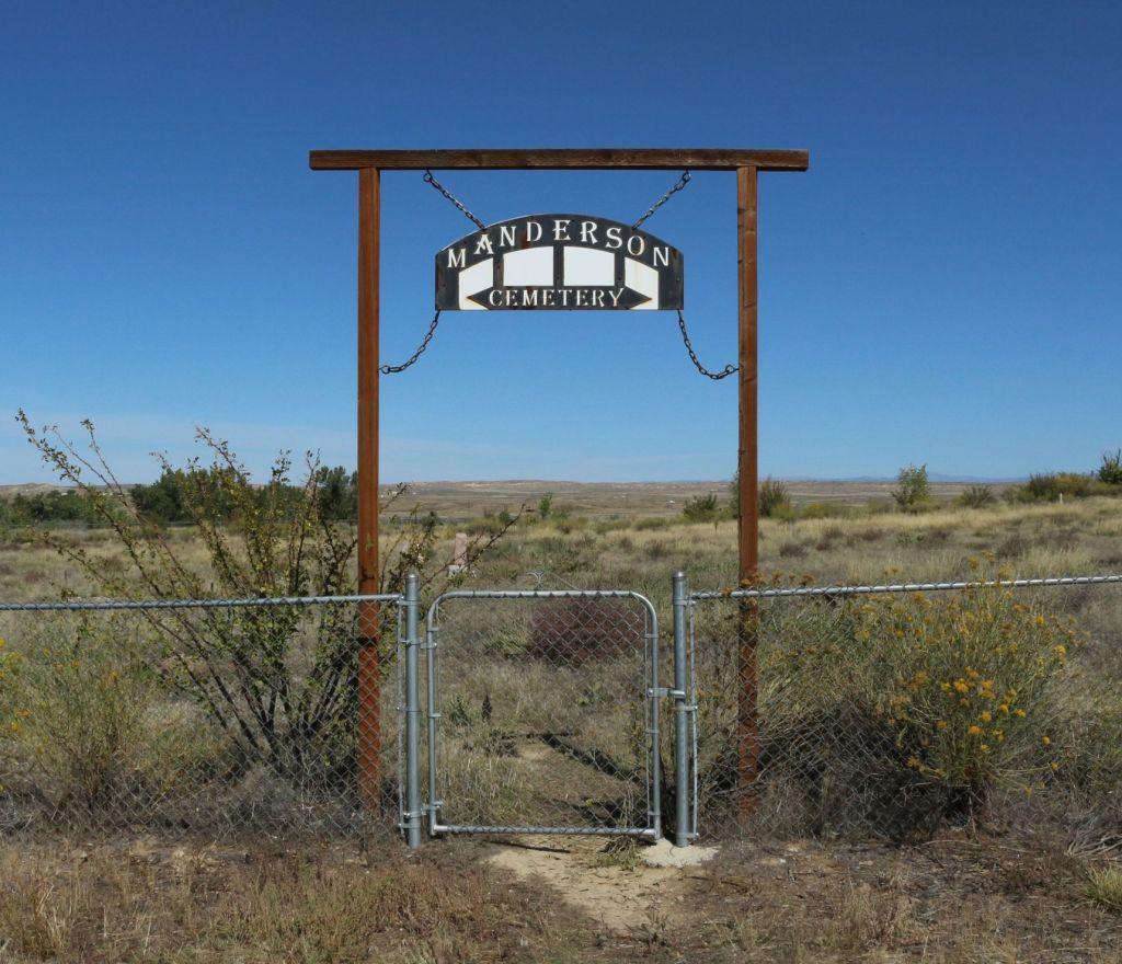 Manderson Cemetery, Manderson, Big Horn County, Wyoming