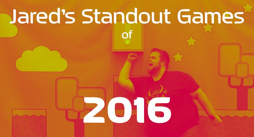 My Standout Games of 2016