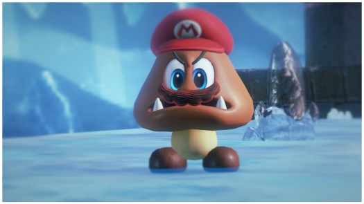 Look at me, Mario is the Goomba now.