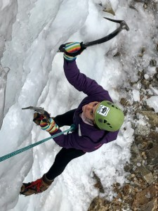 Wyoming Mountain Guides rents stylish and comfortable climbing helmets that help keep you safe in all your rock climbing, ice climbing, and mountaineering adventures in Wyoming. Pictured here is the Petzl Elios climbing helmet.