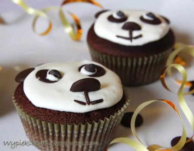 mufinki babeczki pandy