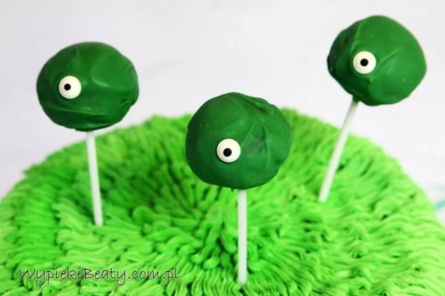 scary cake monster tort