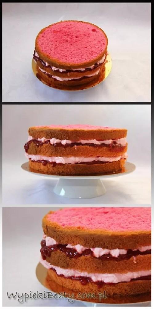 różowy tort p. Ewy1