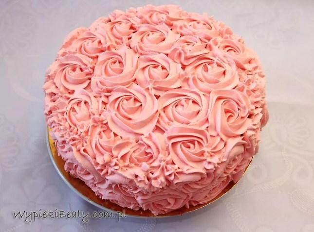 różowy tort p. Ewy2