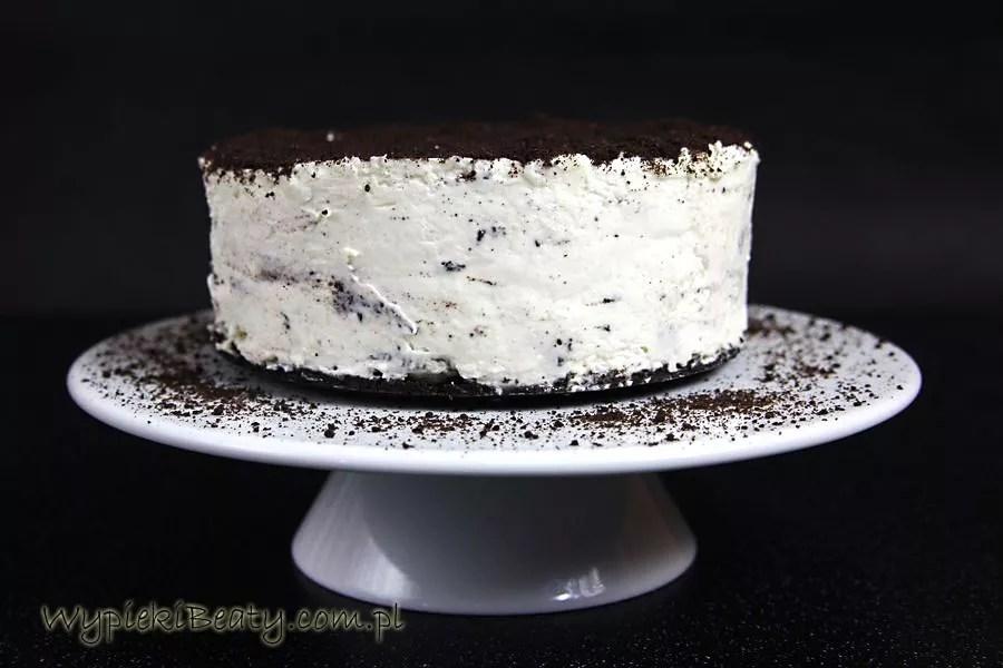 sernik oreo no bake cheesecake