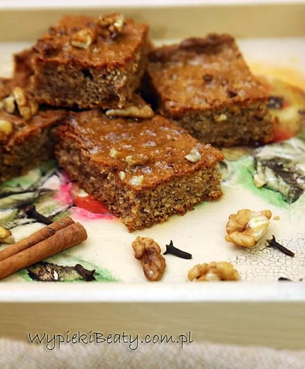 greckie ciasto orzechowe