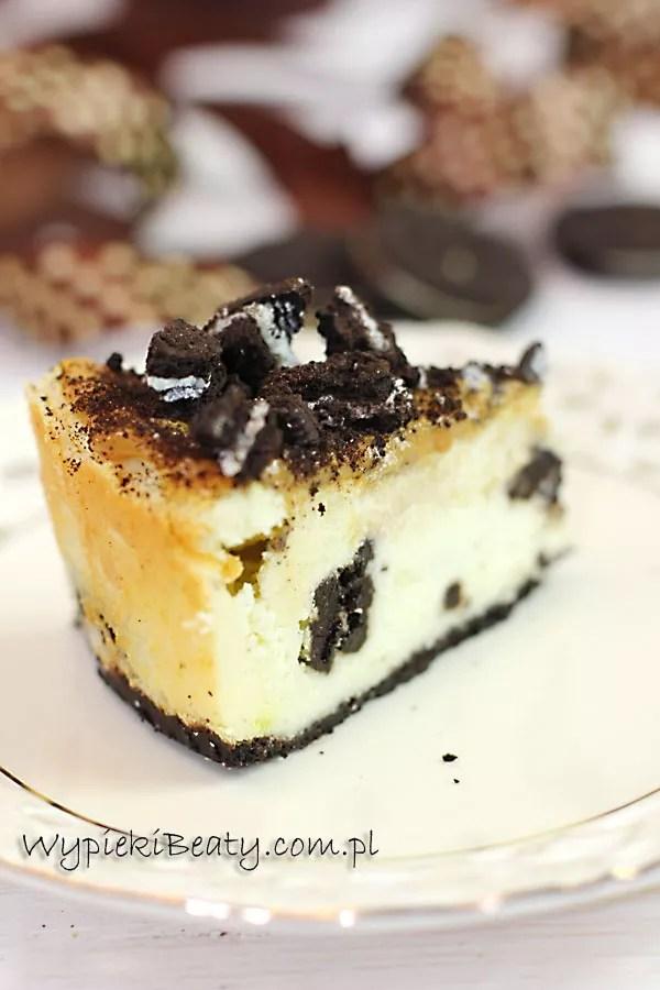 baked oreo cheesecake