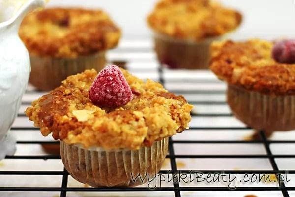 razowe muffinki z malinami5