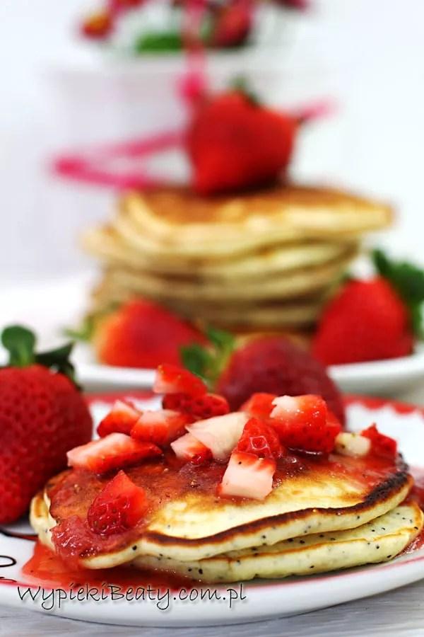pancakes cytrynowo-truskawkowe2