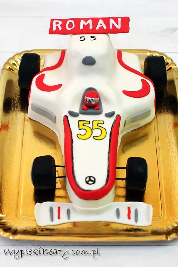 tor samochód wyścigowy f1