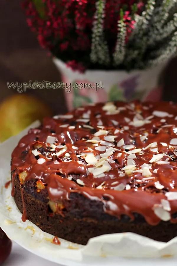 ciasto czekoladowe śliwkowo-gruszkowe1